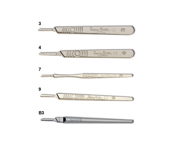 Carbon Steel (RED) Scalpel Blades<br>Blade sizes: 10-20, Medical Box