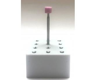 Pink Ceramic Abrasive Bur