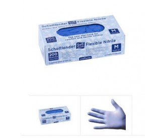 Schottlander Super Soft Flex Nitrile Exam Gloves (200)