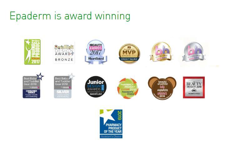 Epaderm Award Winning